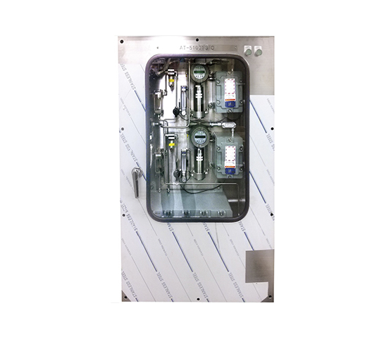 Customized Gas Detector, Two gas detectors on panel