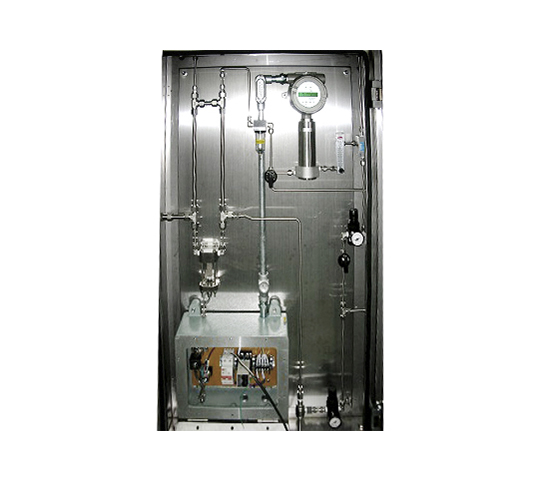 Customized Gas Detector, One gas detector mounted on the panel