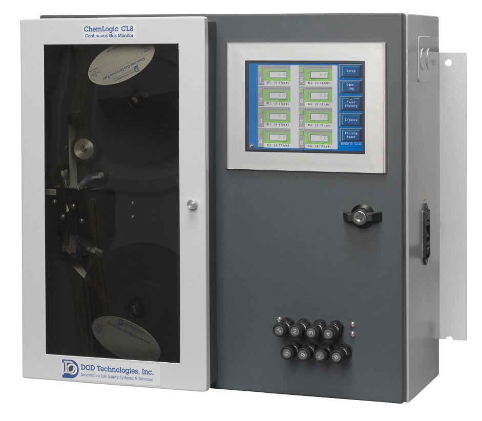 ChemLogic 8 Point Continuous Gas Monitor