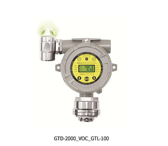 Explosion Proof Type Diffusion VOC Gas Detector, GTD-2000Tx GTL-100