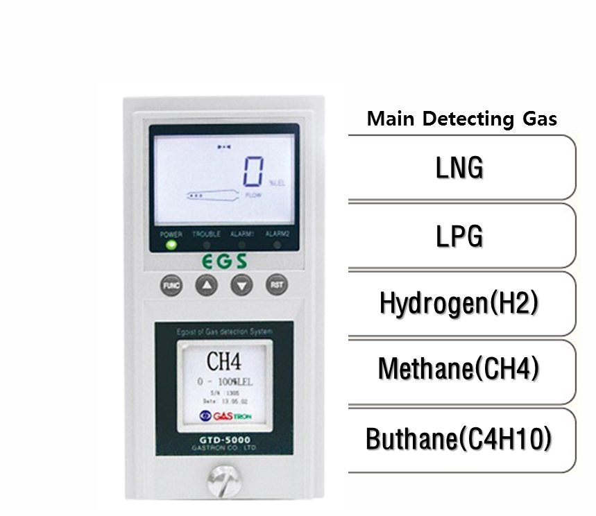 Sampling Flammable Gas Detector, Main Detecting Gas: LNG, LPG, H2, CH4, C4H10