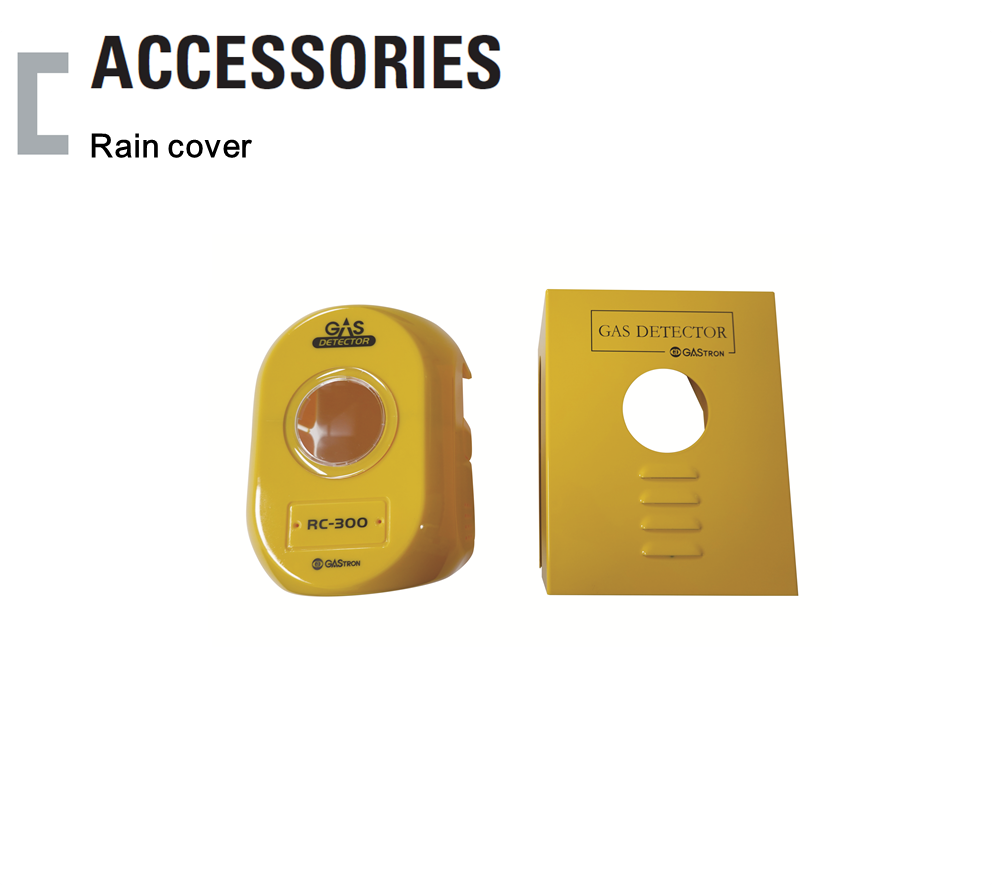 Rain cover, Oxygen / Toxic Gas Detector Accessories