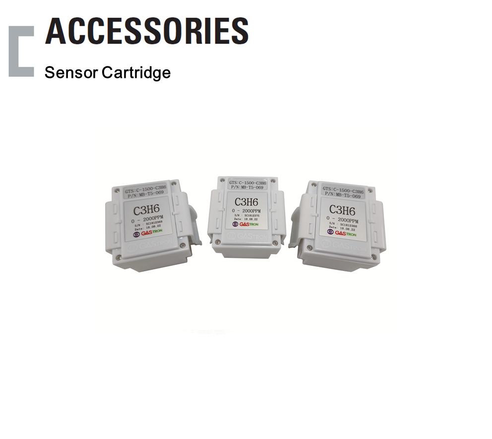 Sensor Cartridge, Oxygen / Toxic Gas Detector Accessories