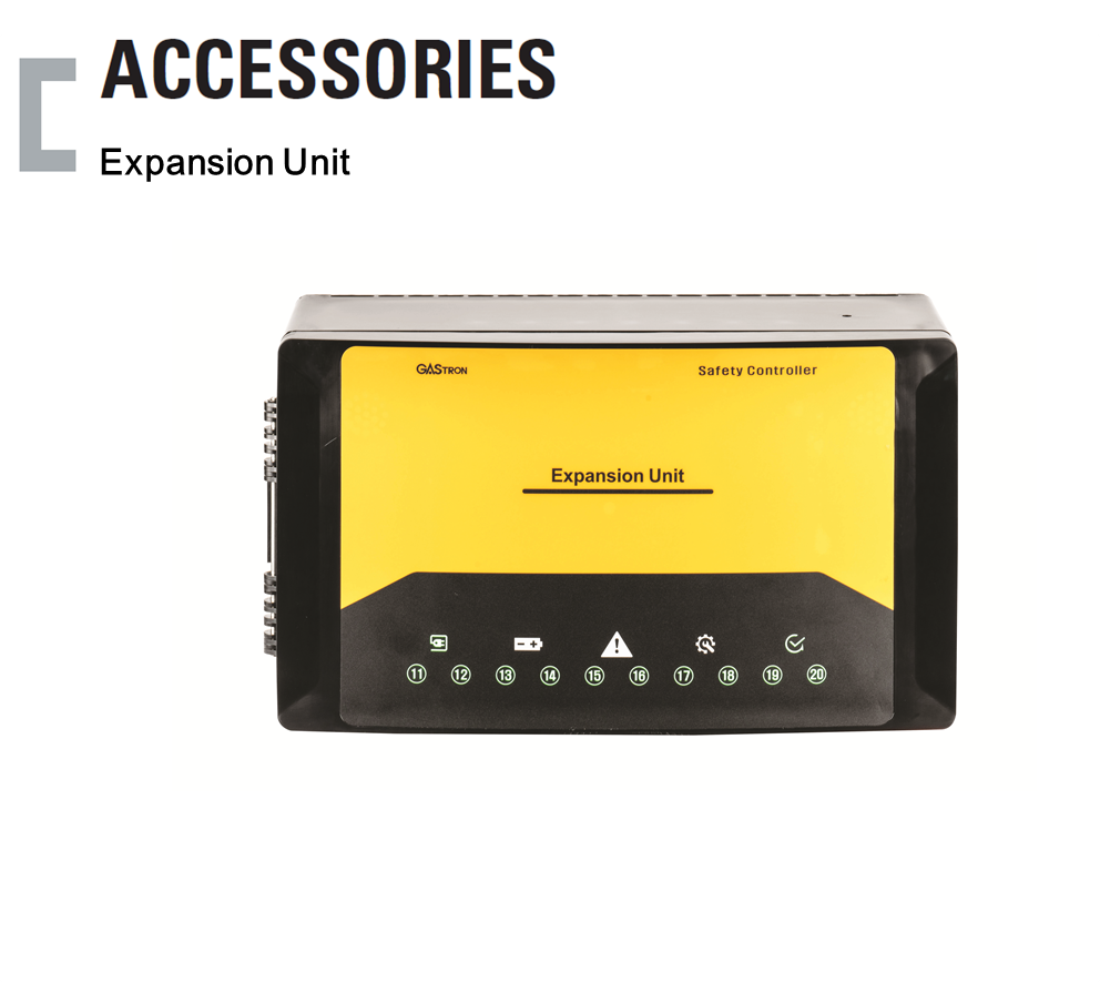 Expansion Unit, 가스감지기 수신반 Accessories