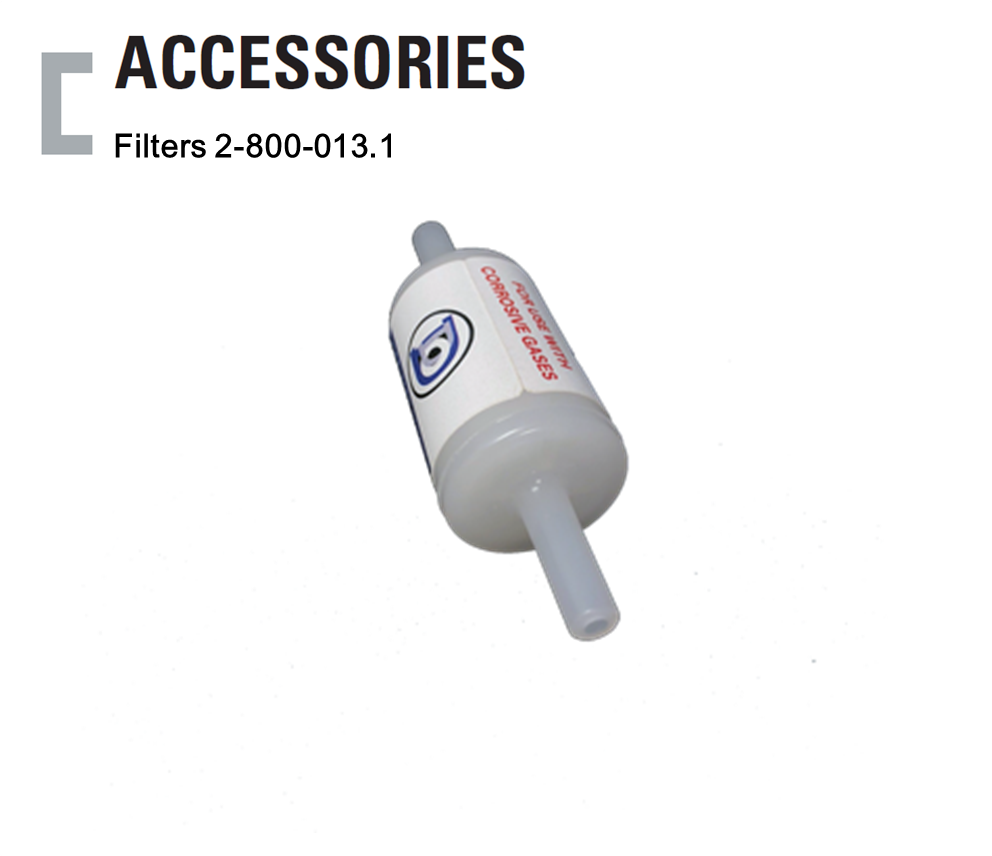 Filter 2-800-013.1, Colormetric Gas Detector Accessories