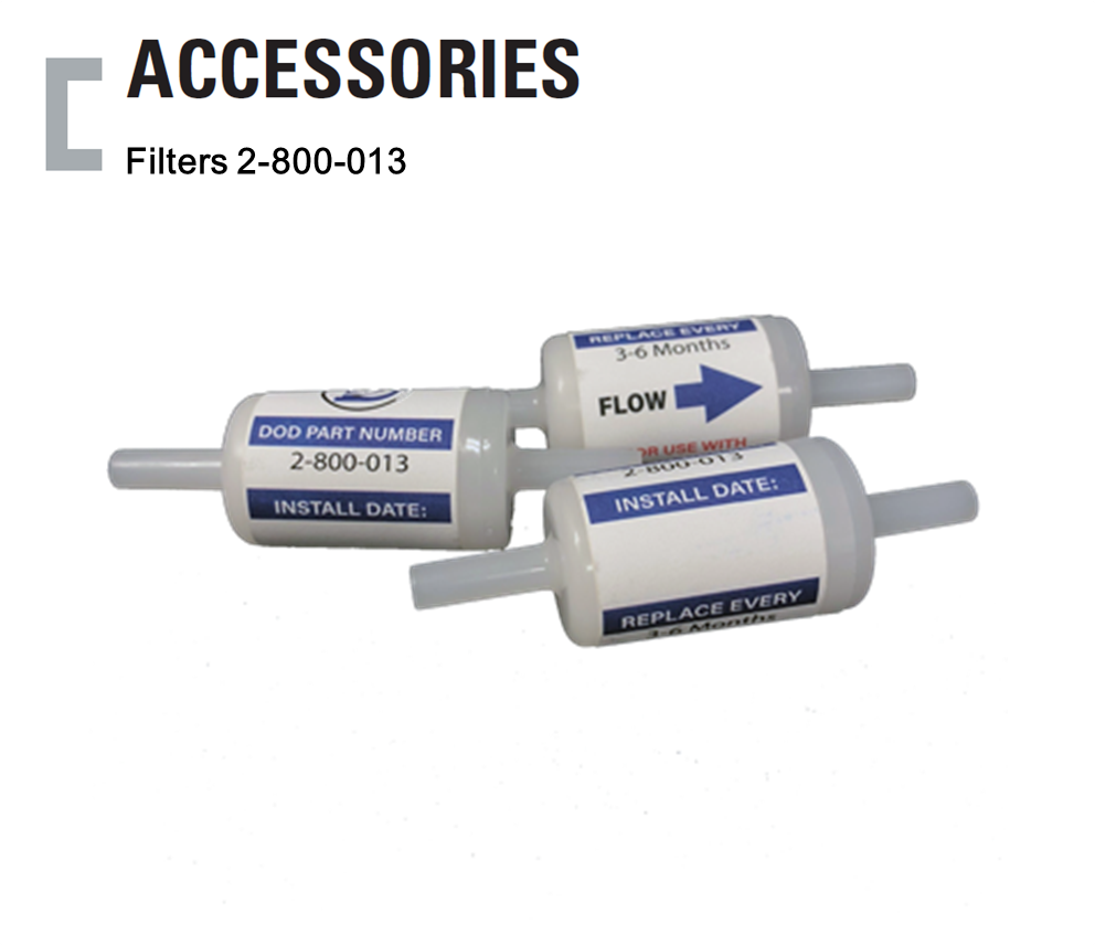 Filter 2-800-013, Colormetric Gas Detector Accessories