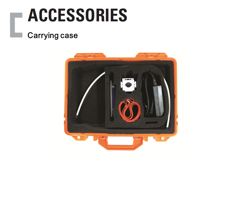 Carrying case, Portable Gas Detector Accessories