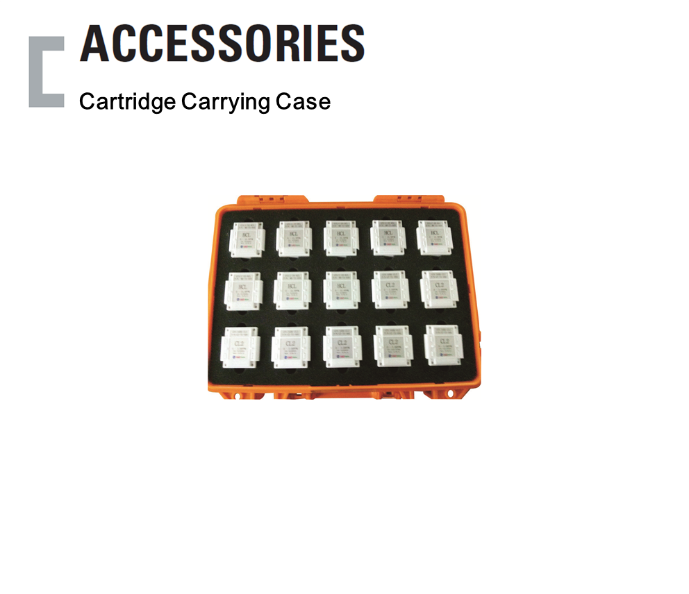 Cartridge Carrying Case, Portable Gas Detector Accessories