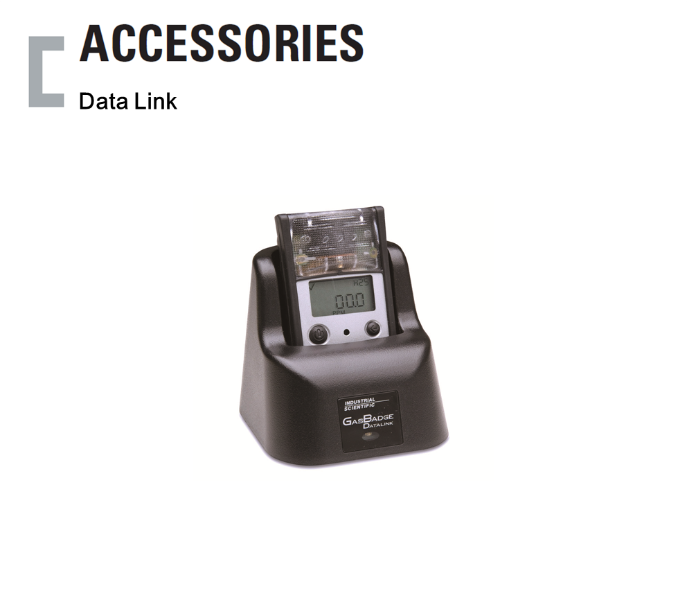 Data Link, Portable Gas Detector Accessories