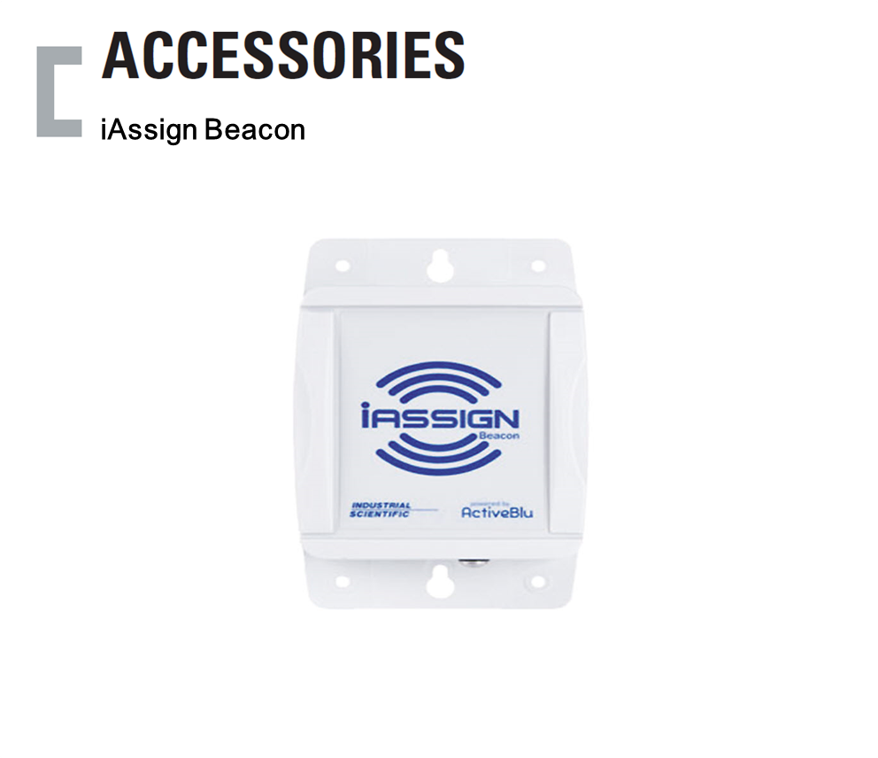 iAssign Beacon, Portable Gas Detector Accessories