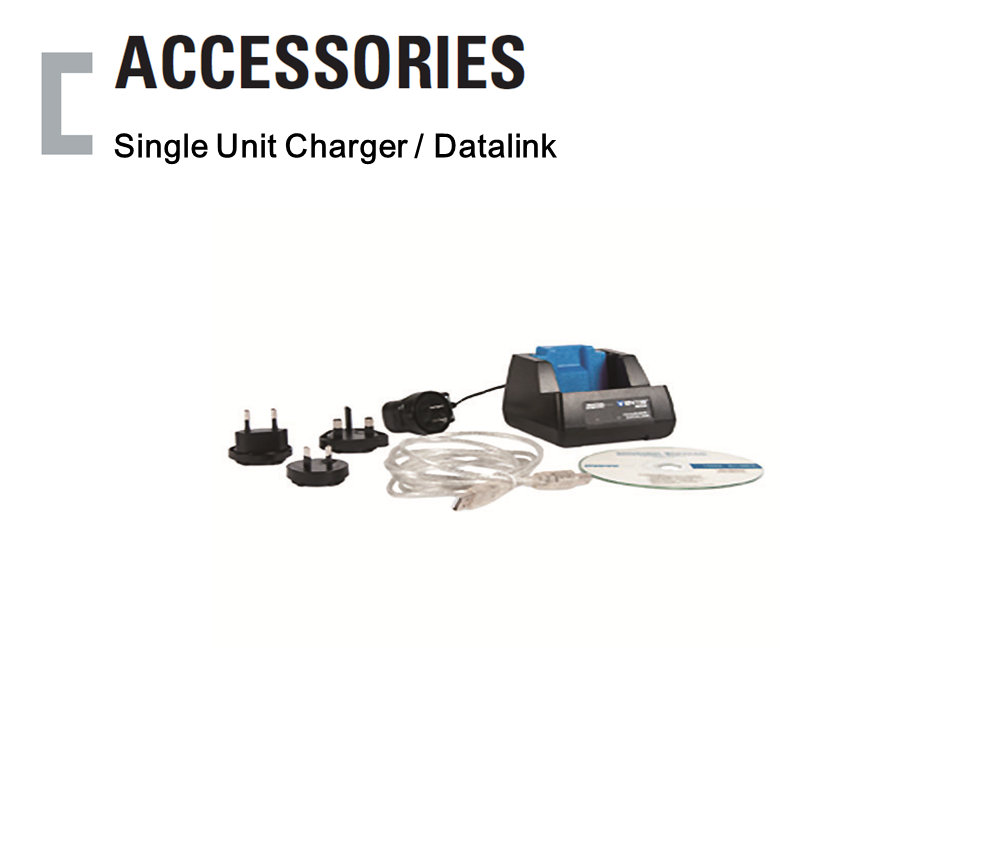 Single Unit Charger / Datalink, Portable Gas Detector Accessories