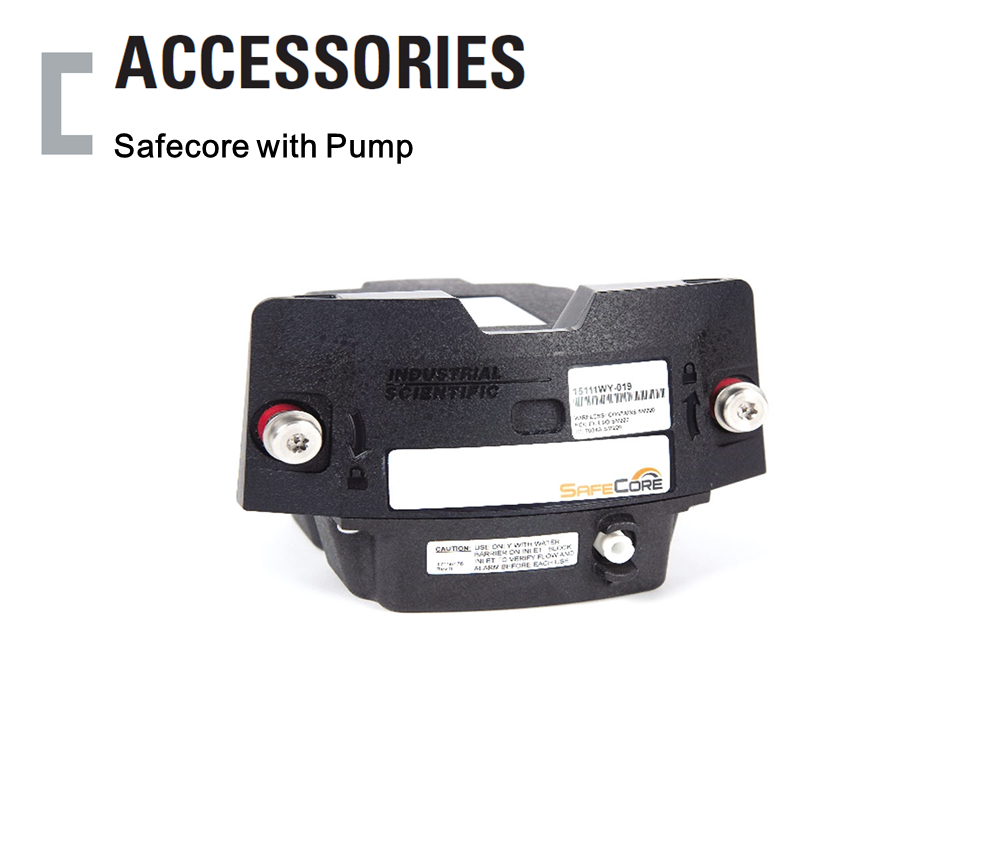 Safecore with Pump, 휴대용 가스감지기 Accessories