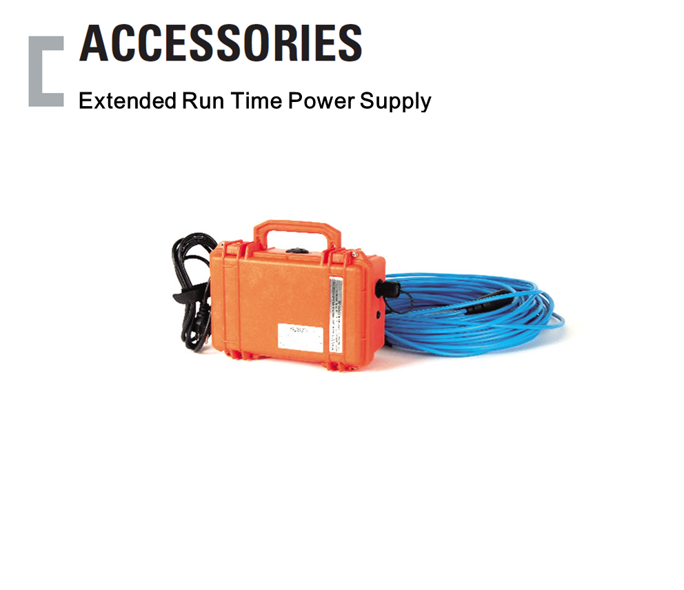 Extended Run Time Power Supply, Portable Gas Detector Accessories
