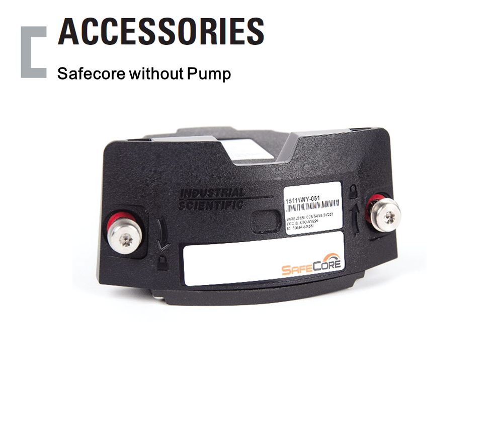 Safecore without Pump, Portable Gas Detector Accessories