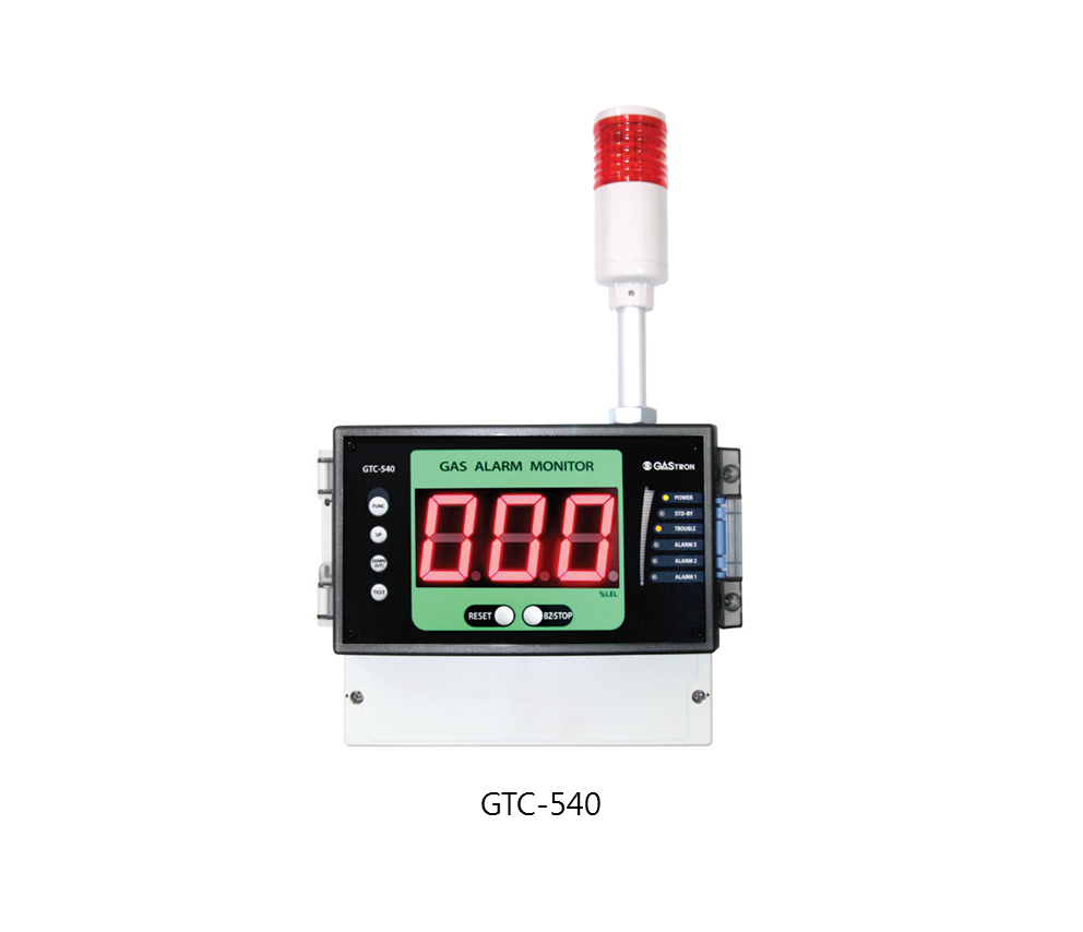 Single Channel Gas Detector Receiver, GTC-540