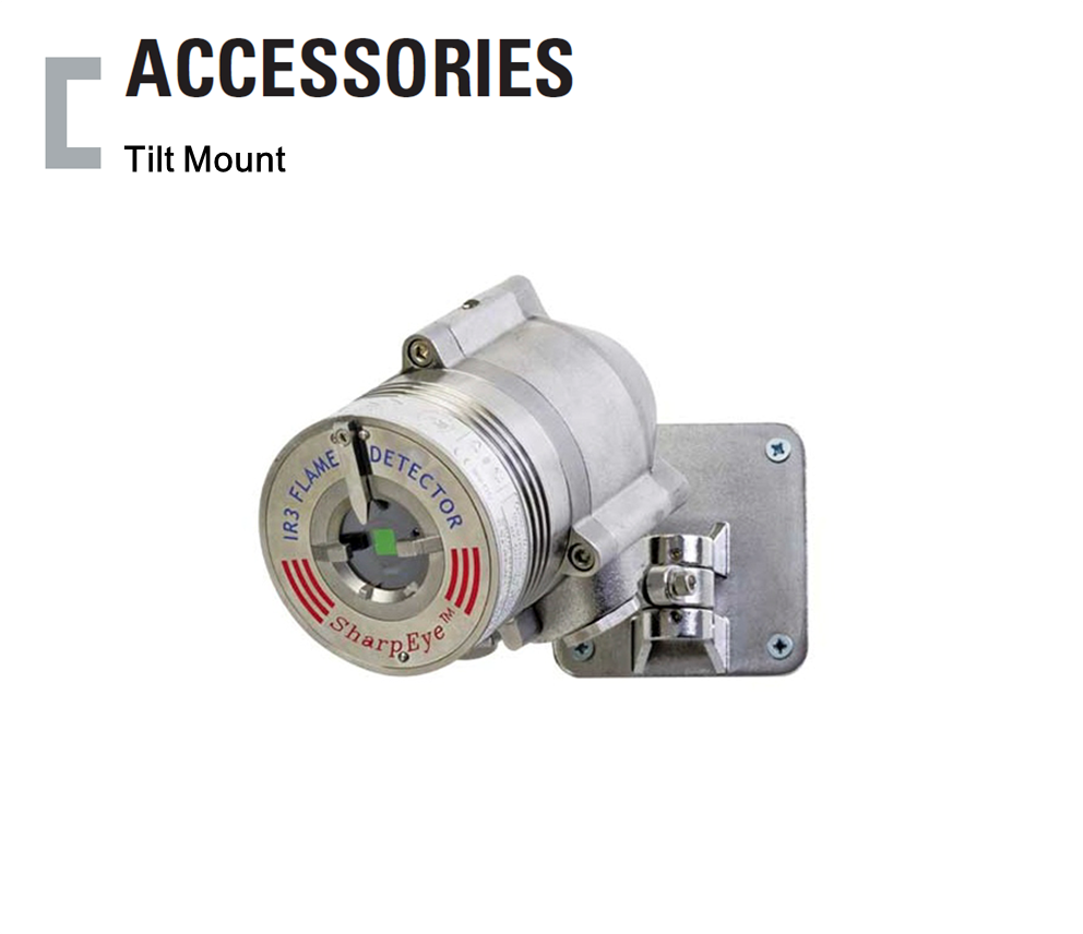 Tilt Mount, Flame Detector Accessories