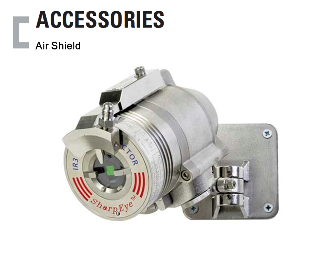 Air Shield, Flame Detector Accessories