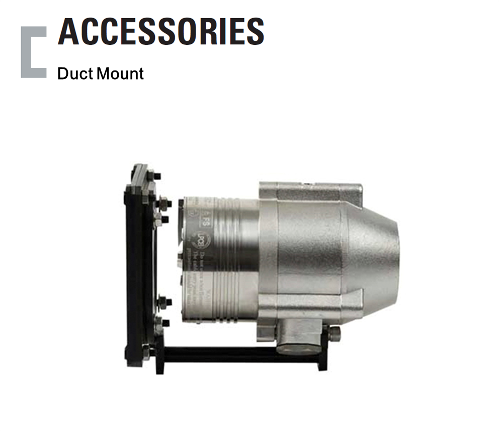 Duct Mount, Flame Detector Accessories