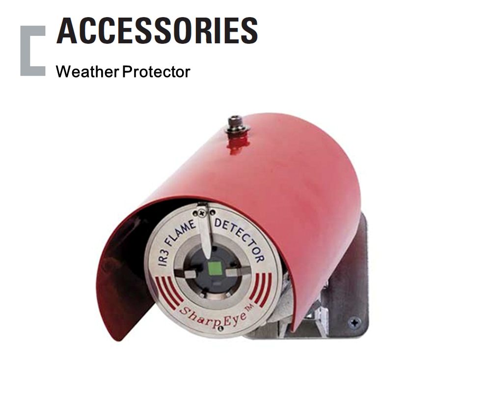 Weather Protector, Flame Detector Accessories